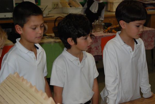 2nd Grade Visits 3rd Grade Colonial Market