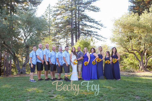 Marisa & Mokie : Family/Bridal Party Portraits : 9.17.17