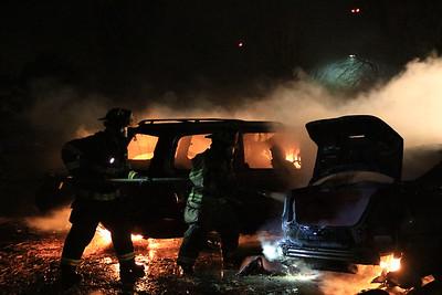 Car Fires  -  November 15, 2017
