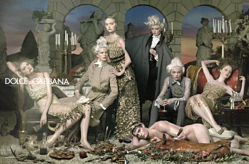 2006 DOLCE & GABBANA Fall-Winter 2006-2007C: Spain spread (Vogue)