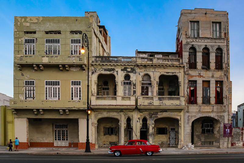 Classic Cars on the Havana Malecon 6