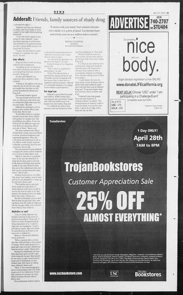 Daily Trojan, Vol. 154, No. 65, April 26, 2005