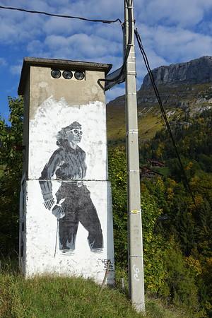 Col de la Colombière, 24.9.2017
