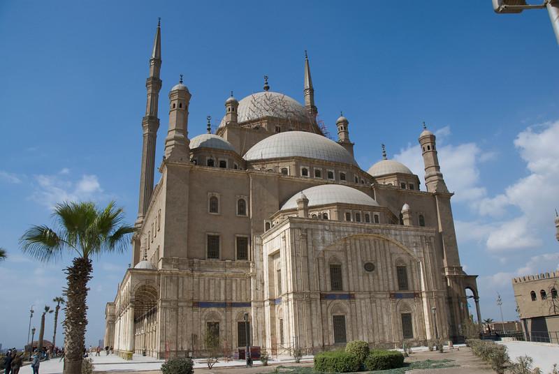 Mohamed Ali Mosque facade - Cairo, Egypt