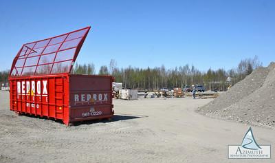 Red Box Refuse: C Street, South Side Storage