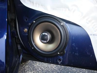 2004 Honda Civic EX Sedan Front Door Speaker Installation