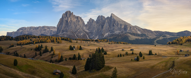Sunrise at Alpe de Siusi