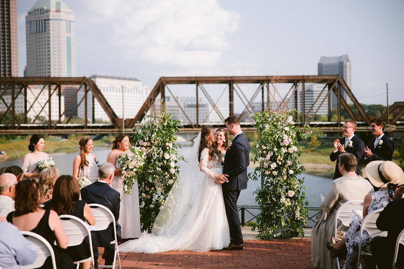 North Bank Pavillion Wedding