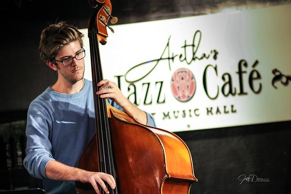 Music Hall Jazz Jam at Aretha's Jazz Cafe - 10-14-2018