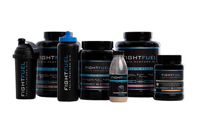 Fight Fuel - Studio product shots