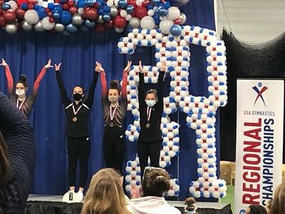 APEX Gymnastics Crowns Champions at States & Regionals