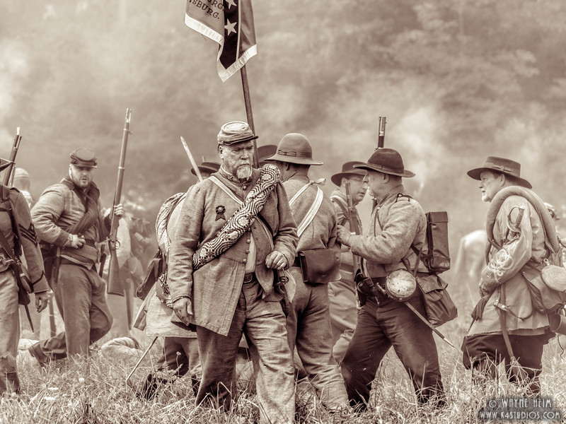 Battlefield Confusion   Black & White Photography by Wayne Heim