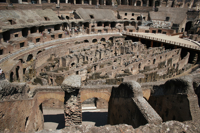 Rome, Italy; The Colosseum