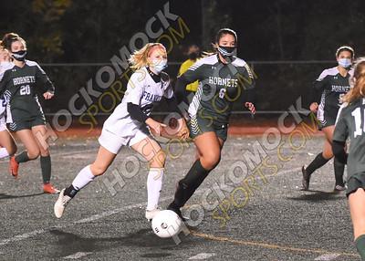 Mansfield - Franklin Girls Soccer 10-28-20