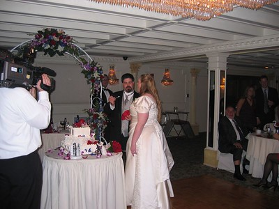 Dan's and Donna's Wedding, October 22, 2005