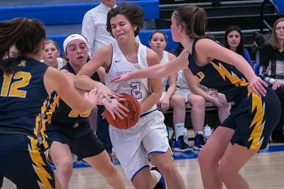 DHS Girls Basketball 12-09-2019