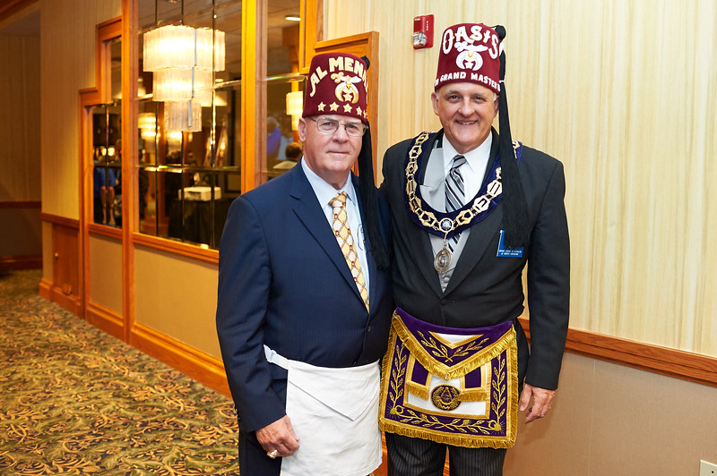 Grand Master Speed Hallman & Imperial Sir Jim Cain