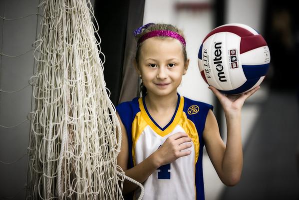 Samantha's Volleyball Game