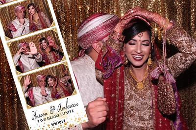 Ambereen and Haroon Wedding