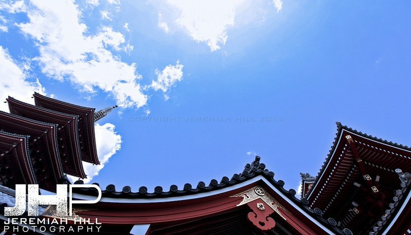 """""""Asakusa Temple #2"""", Tokyo, Japan, 2010 Print JAP16-870"""