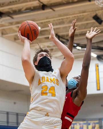 Varsity Basketball:  Rochester Adams vs. Romeo 3/25/2021