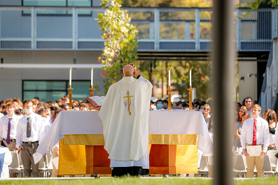 Blessing of the New Building and Mass