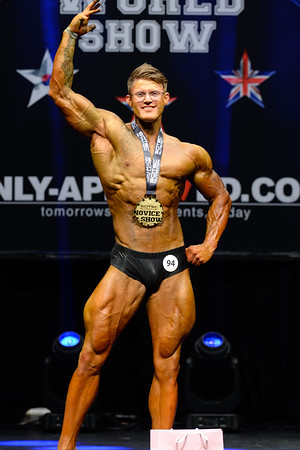 Novice Mens Classic Physique Class Over 183 cm