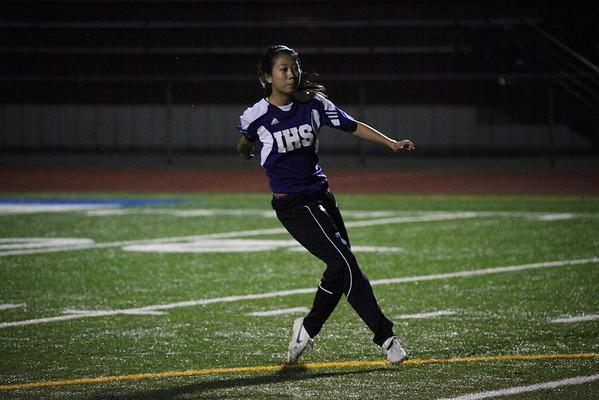 2011-11-10 IHS Girls Soccer vs Todd Beamer