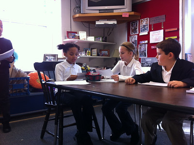 4N Reader's Theater: The Landry News