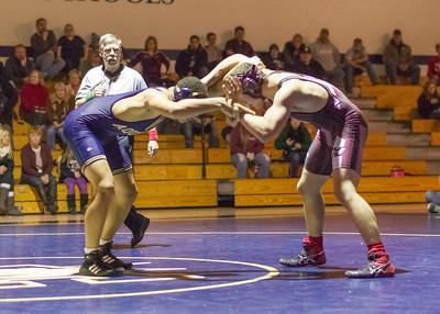 2013-12-12 Aquinas Wrestling vs Holmen