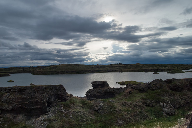 Myvatn in the evening