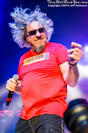 Sammy Hagar & Friends <br> July 30, 2014 <br> Casino Ballroom - Hampton Beach, NH <br> Photos by: Jeff Palmucci