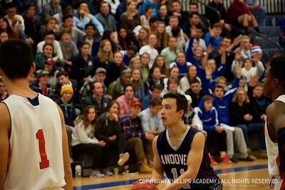 BV Basketball vs. Milton