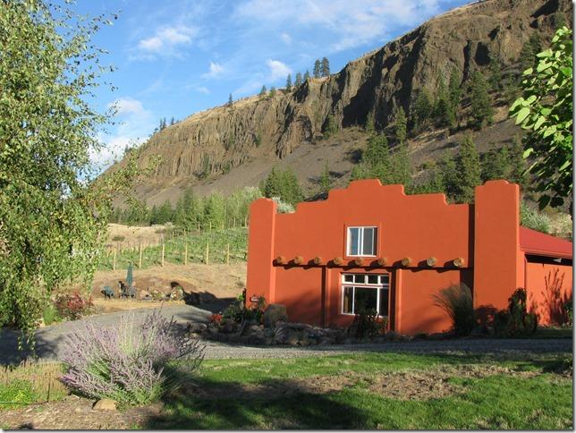 . The tasting room at Malaga Springs Winery near Wenatchee, Washington. (Photo provided by Malaga Springs Winery)