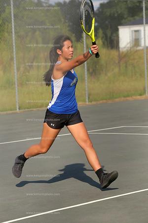 East Bladen 17 West Columbus girls tennis