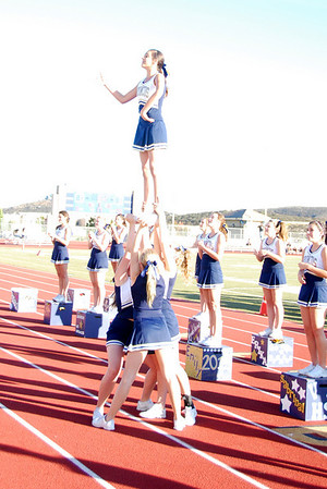 JV Cheer vs. MVHS