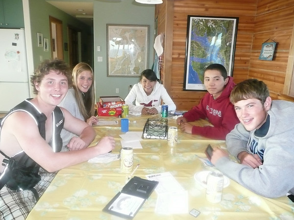 The Samuels & Friends at the Cabin