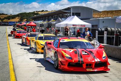 2017 Ferrari Challenge at Mazda Raceway Laguna Seca