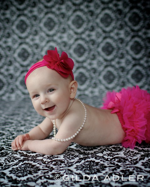 Baby Natalie is 6 months old