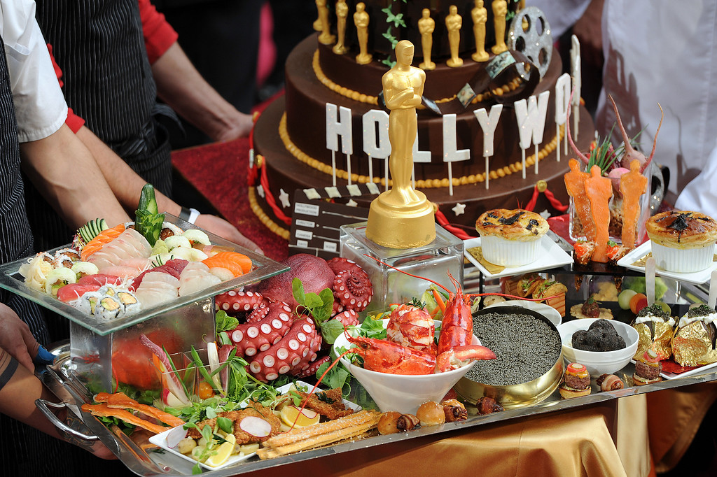 . Food at  the 86th Academy Awards at the Dolby Theatre in Hollywood, California on Sunday March 2, 2014 (Photo by John McCoy / Los Angeles Daily News)