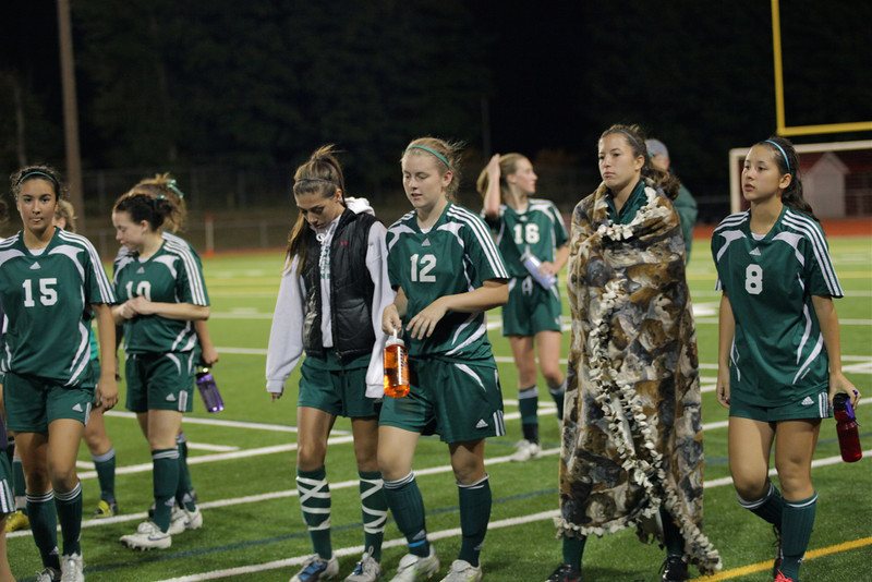 Woodinville High Girls Varsity Soccer verse Newport High September 29, 2011, Bellevue Washington   ©Neir