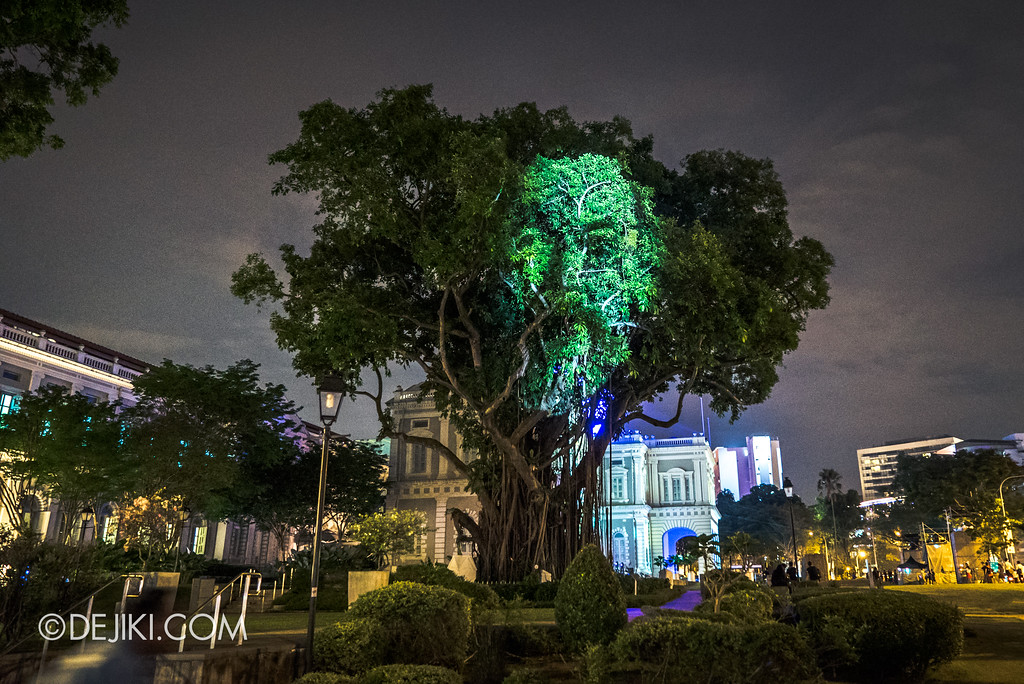 Singapore Night Festival 2017 / The Tree that Blinked by Karel Bata (UK)