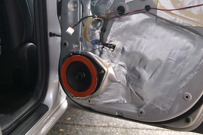 2007 Toyota Rav4 V6 Sport 4X4 With Upgraded JBL System Rear Door Speaker Installation - USA
