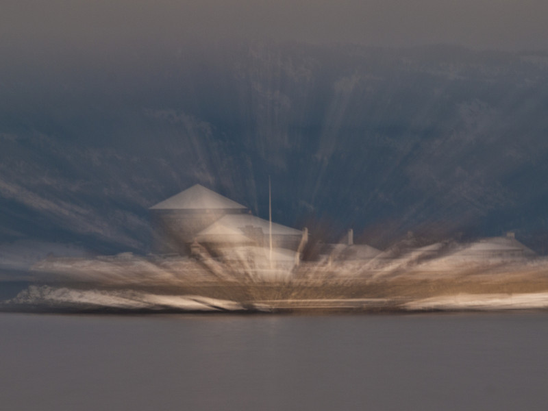 Zooming in on Munkholmen (Foto: Ståle)