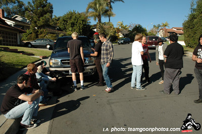 Tippers Gore, Bad Antics, Citizens On Patrol (COP), & Critical Picnic - at Mike's House - December 9, 2006 - San Clemente, CA
