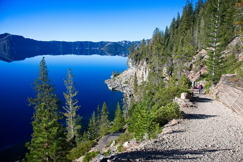 Crater Lake - Cleetwood Cove Trail