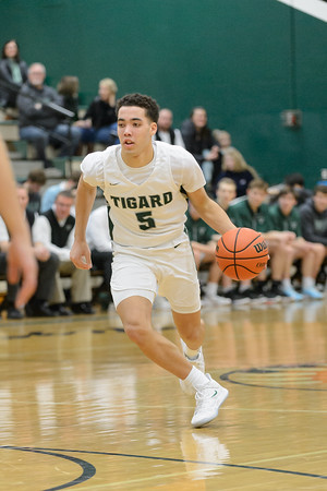 Tigard High School Varsity Boys Basketball vs Canby