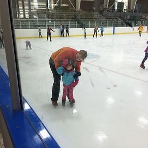 KIersten Ice skating