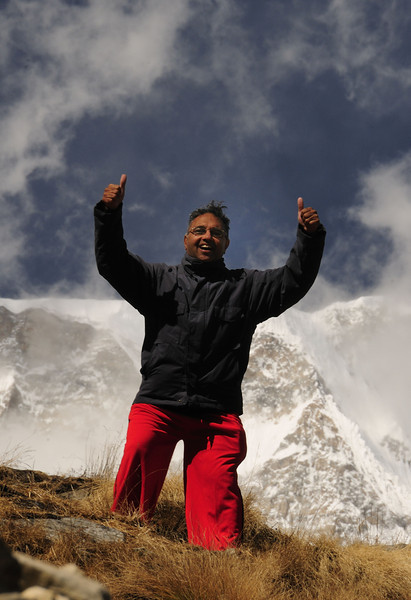 Srini at the Edge. http://www.natureimages.in