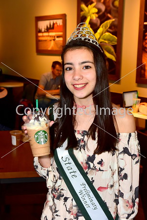 Junior Miss Magnolia State Oxford Coffee with a Cop